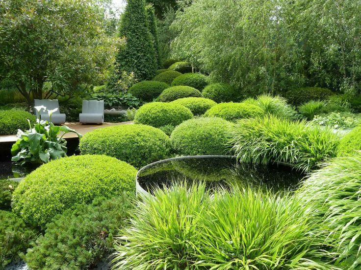 conservación de jardines